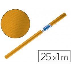 Bobina papel tipo kraft Liderpapel 25 x 1 m miel