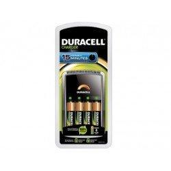 Cargador de pilas recargables Duracell CEF 15