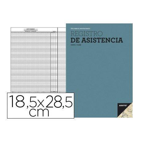 Bloc de registro de asistencia