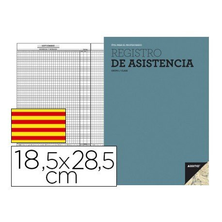 Bloc de registro de asistencia en Catalan