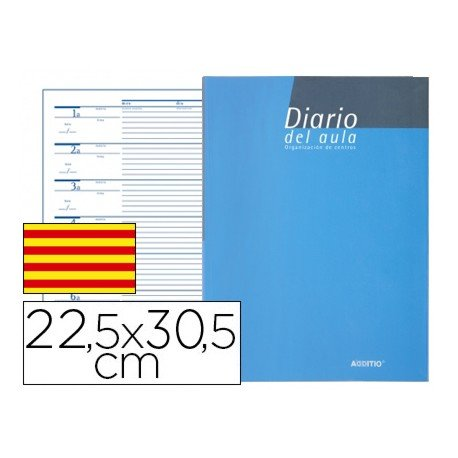 Bloc diario del aula marca Additio catalan