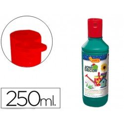 Pintura multiuso Jovidecor 250 ml color verde oscuro