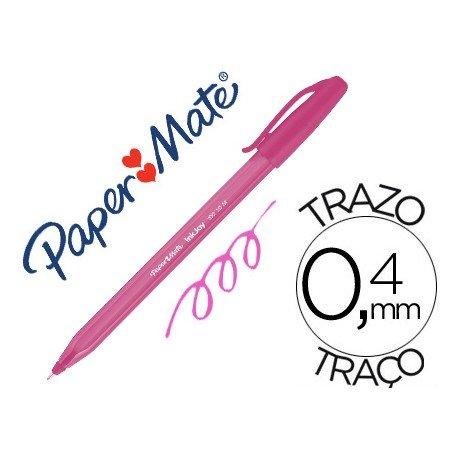 Boligrafo Paper Mate Inkjoy 100 1 mm rosa