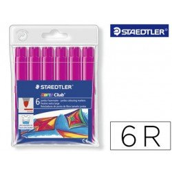 Rotulador Staedtler color rosa