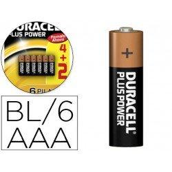 Pila Duracell alcalina AAA