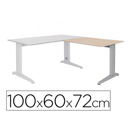 Ala para mesa Rocada Metal Haya 2102