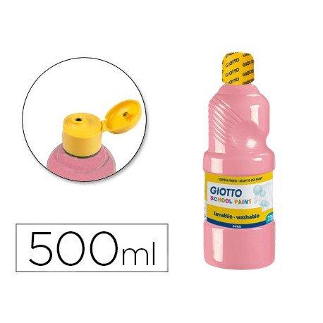 Tempera Giotto rosa carne 500 cc