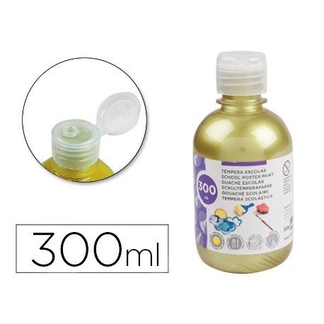 Tempera Liderpapel color oro 300 cc