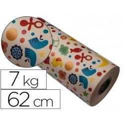Bobina papel tipo kraft Impresma 62 cm 7 kg infantil 4302