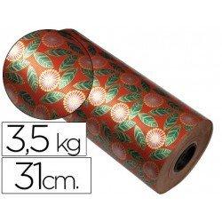 Bobina papel tipo kraft Impresma 31 cm 3,5 kg havana 4307