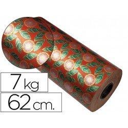 Bobina papel tipo kraft Impresma 62 cm 7 kg havana 4307