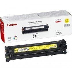 Toner Canon 716 color Amarillo 1977B002