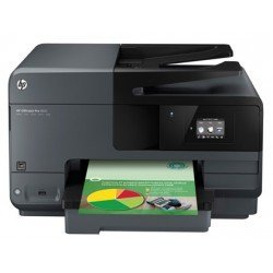 Equipo multifuncion HP Officejet Pro 8610 color Negro