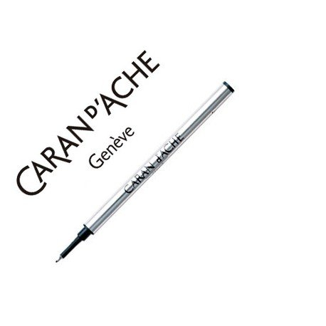 Tinta roller fine marca Caran d'Ache azul punta fina