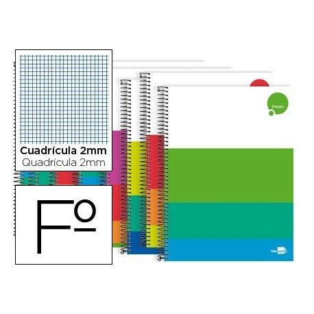 Bloc Liderpapel Folio serie Dream milimetrado sin margen