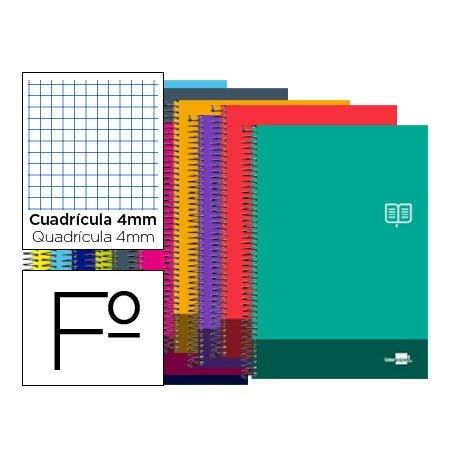 Bloc Folio marca Liderpapel serie Discover cuadricula 4 mm