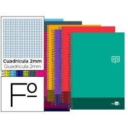 Bloc Folio marca Liderpapel serie Discover milimetrado
