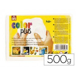 Arcilla Sio-2 Colorplus color blanco 500 g