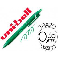 Boligrafo Uni-Ball roller SXN157C Jetstream color verde 0,35 mm