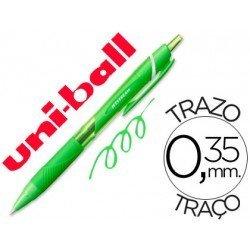 Boligrafo Uni-Ball roller SXN157C Jetstream color verde claro 0,35 mm
