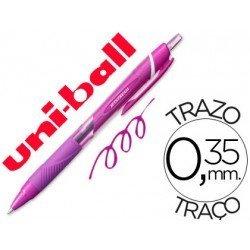 Boligrafo Uni-Ball roller SXN-157C Jetstream color violeta 0,35 mm