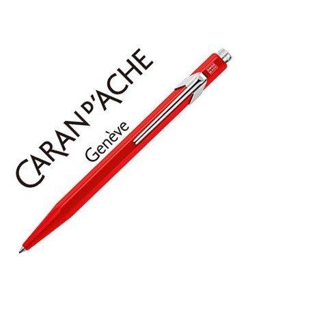 Boligrafo marca Caran d'ache 849 rojo