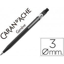 Portaminas marca Caran d'Ache Fixpencil negro 3 mm