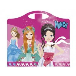 Cuaderno de actividades Maletita Nancy Diseño princesas 64 páginas
