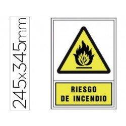 Señal marca Syssa riesgo incendio
