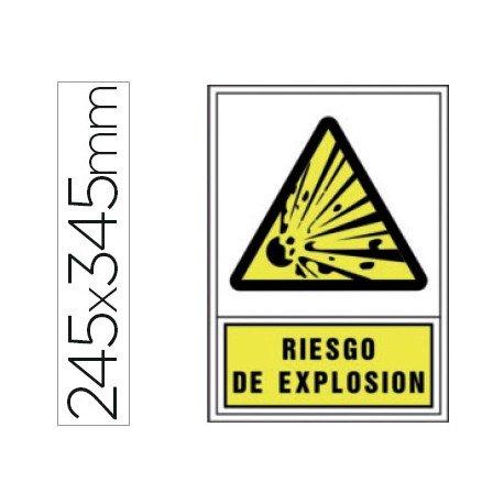 Señal marca Syssa riesgo explosion