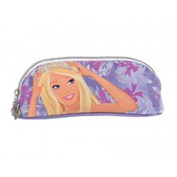 Bolso escolar portatodo ovalado Safta modelo barbie