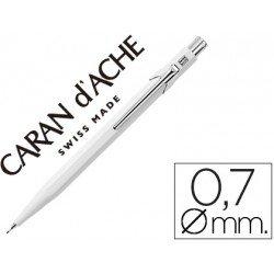 Portaminas marca Caran d'Ache 844 classic line blanco
