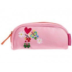 Bolso portatodo semicircular Agatha Ruiz de la Prada Love color rosa