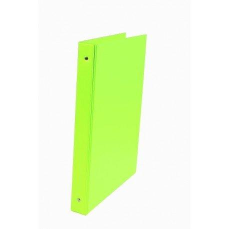 Carpeta Liderpapel 4 anillas 40mm A4 color Verde