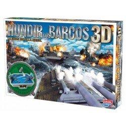 Juego de mesa Hundir los Barcos 3D Falomir