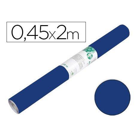 Papel autoadhesivo azul brillo especial ante Liderpapel