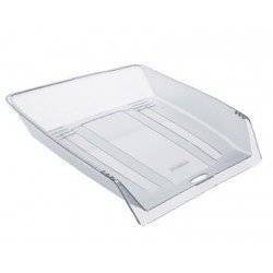 Bandeja sobremesa Offisys plastico 1025 color transparente 345x265x65mm