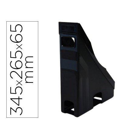 Revistero Offisys plastico flexible color negro