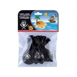 Globos piratas bolsa de 8 unidades