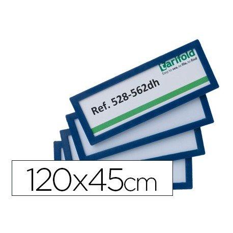 Identificador para puertas-pared Color Azul 120x45 MM