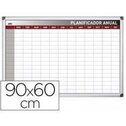 Planning Anual Rotulable Magnético 90x60 cm Rocada