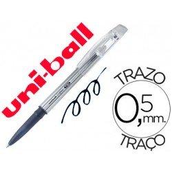 Bolígrafo Borrable roller gel UF-220 color negro 0,5 mm