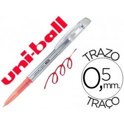 Bolígrafo Borrable roller gel UF-220 color rojo 0,5 mm