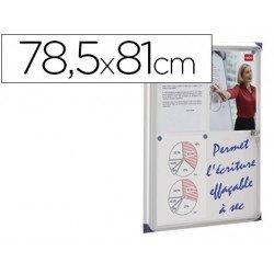 Vitrina de anuncios mural magnética Medidas 78,5x81cm Nobo