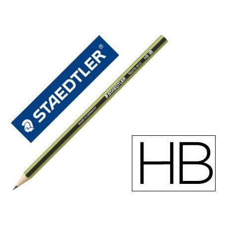 Lapiz de grafito marca Staedtler Wopex ecologico Hb
