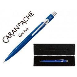 Estuche azul con portaminas marca Caran D´ache 844 trazo 0,7mm