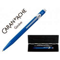 Estuche Boligrafo Caran D´ache 849 color azul