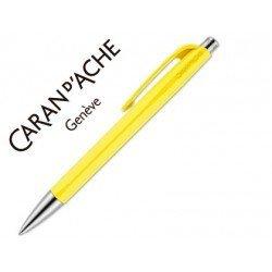 Boligrafo Caran d´Ache coleccion 888 Infinite Color amarillo Trazo medio