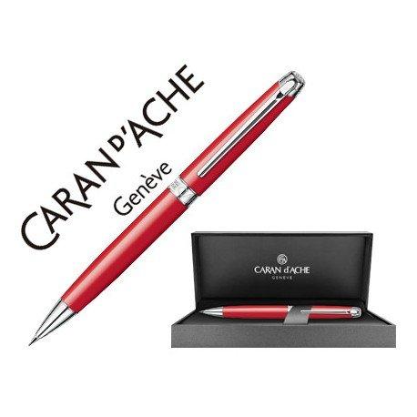 Portaminas Caran d'Ache Leman Rojo 0,7 mm