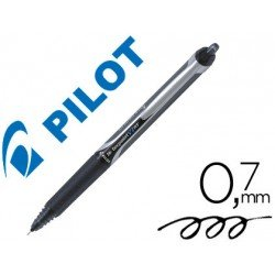 Boligrafo Pilot V-7 retractil 0,7 mm color negro